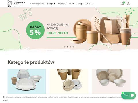 Ecoway.supply opakowania ekologiczne