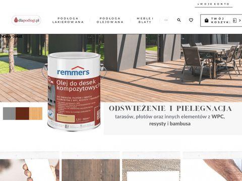 Dlapodlogi.pl środki czystości pielegnacja