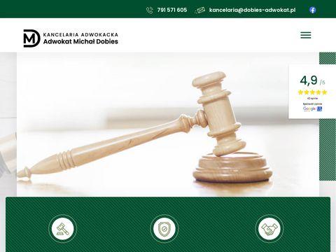 Dobies-adwokat.pl kancelaria Warszawa