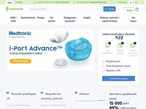 Diabetyk24.pl sklep dla cukrzyków