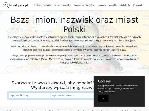 Detektywik.pl sprawdź osobę