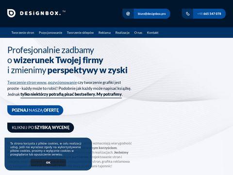 Designbox.pro tworzenie stron Gniezno