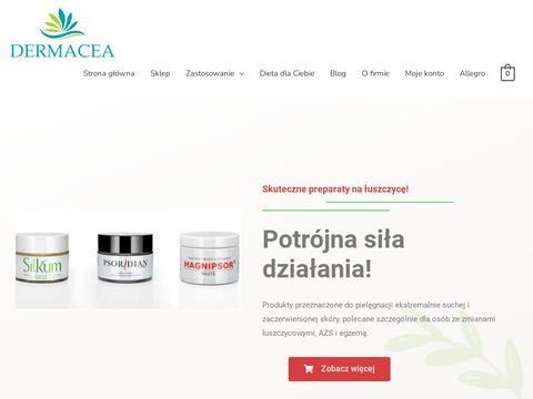 Dermacea.pl maści na łuszczycę