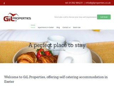 Gilproperties.co.uk apartamenty Exeter