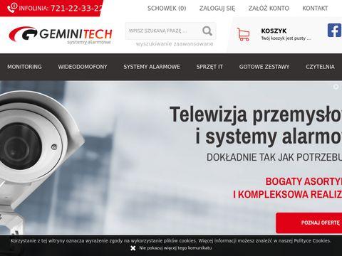 Geminitech.pl montaż monitoringuMiędzywodzie