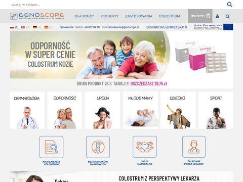 Genoscope.pl kosmetyki dla cukrzyków
