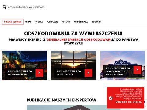 Gdo.org.pl spadek wartości nieruchomości