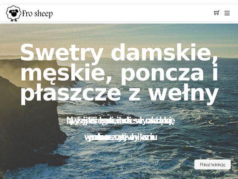 Frosheep.pl kardigany wełniane