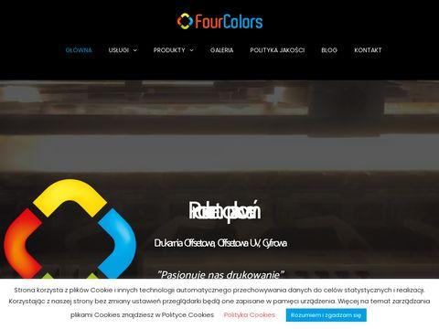 Fourcolors.com.pl druk wielkoformatowy