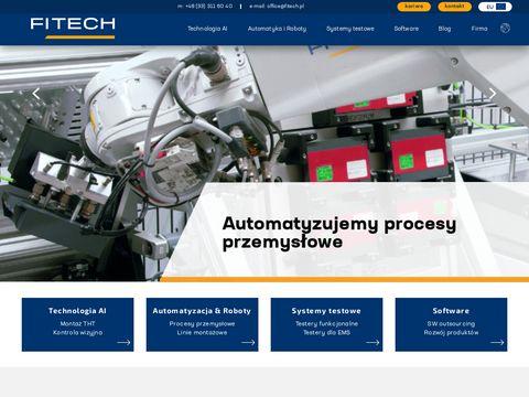 Robotyzacja produkcji - fitech.pl