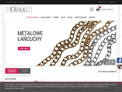 Fhoval.pl dodatki krawieckie hurtownia