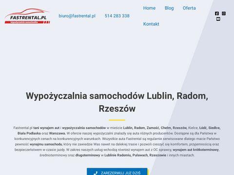 Fastrental.pl wypożyczalnia samochodów Lublin