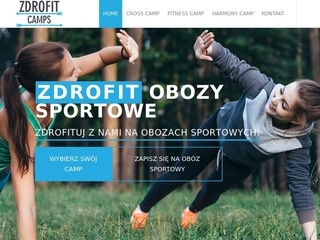 Zdrofit.camp fitness cross joga obozy