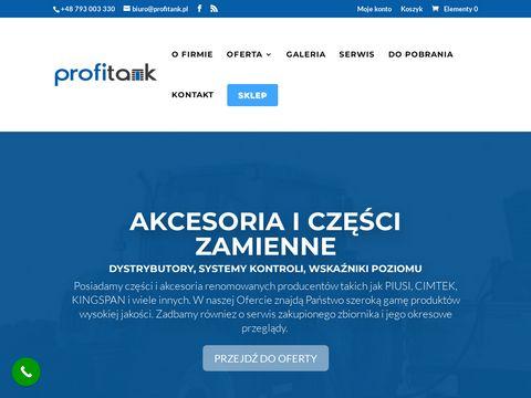 Profitank.pl zbiorniki do przewozu paliwa
