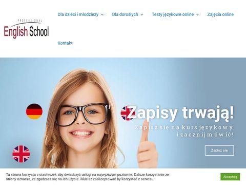 Professionalenglish.com.pl angielski dla dzieci