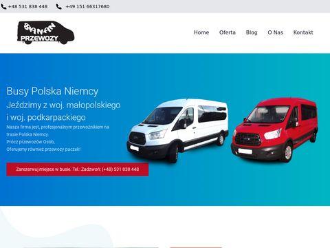 Przewozy-banan.pl busy do Niemiec