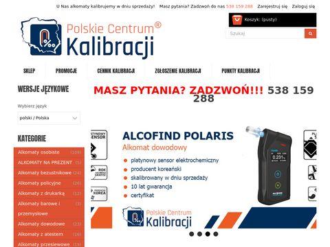 Polskie-centrum-kalibracji.pl alkomaty