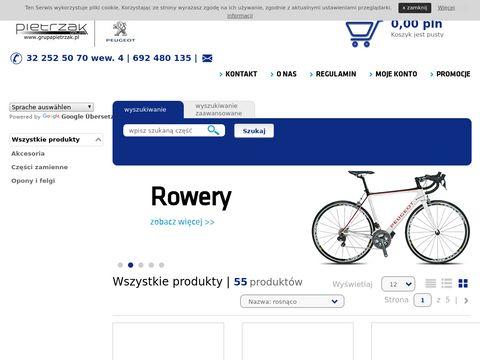 Pietrzak.eparts.pl Peugeot części oryginalne