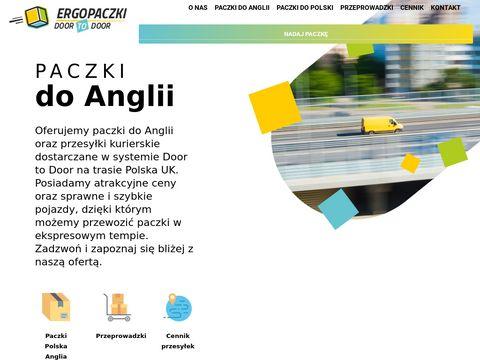Paczkianglia.com.pl kurierskie przesyłki