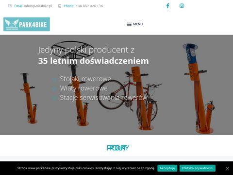 Park4bike.pl wiaty rowerowe stacje naprawy