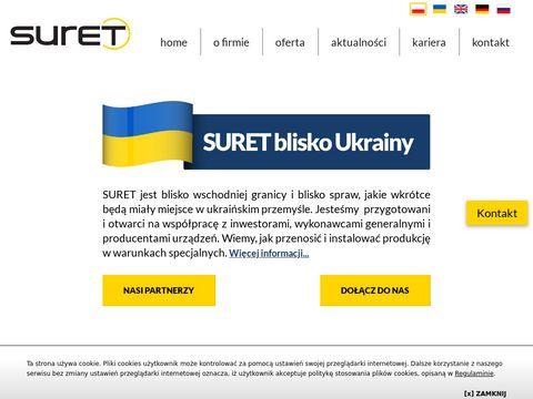 Suret-relokacje.pl przenoszenie maszyn