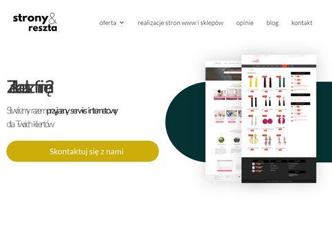 Stronyireszta.pl tworzenie serwisów www