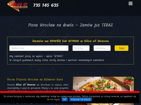 Sliceofheaven.pl pizza Wrocław