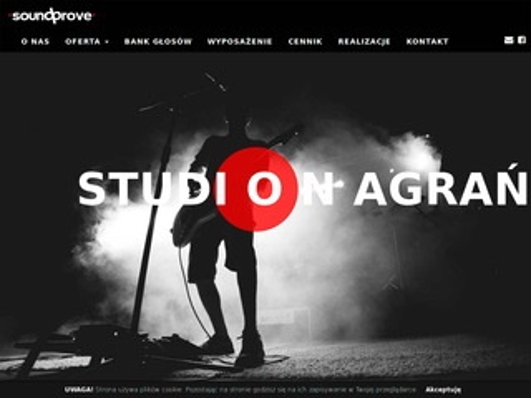 Soundprove.com studio nagrań