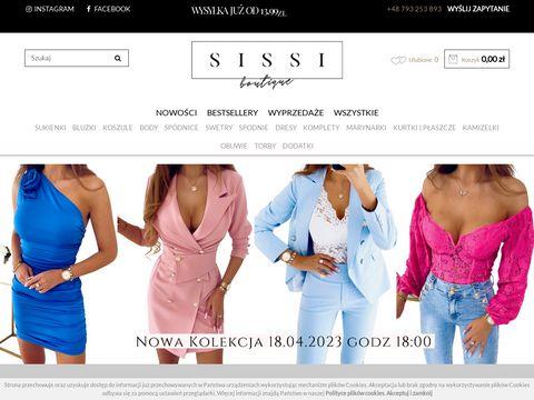 Sissi-boutique.pl kardigany damskie