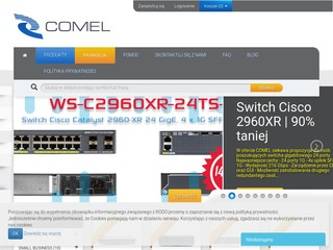 Sklep.comel-it.com switche Cisco