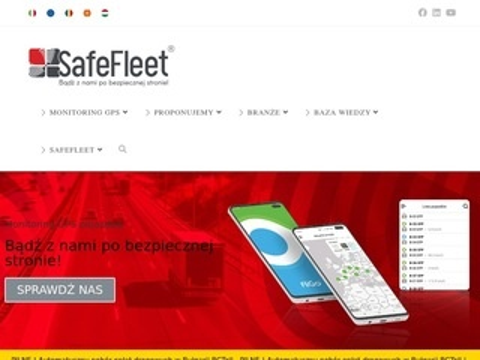 Safefleet.pl monitoring pojazdów GPS