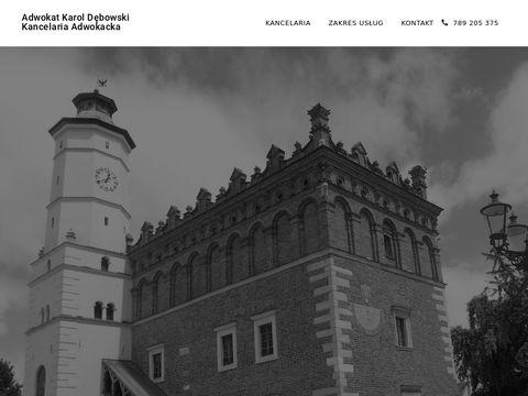 Sandomierz-adwokat.pl kancelaria prawna