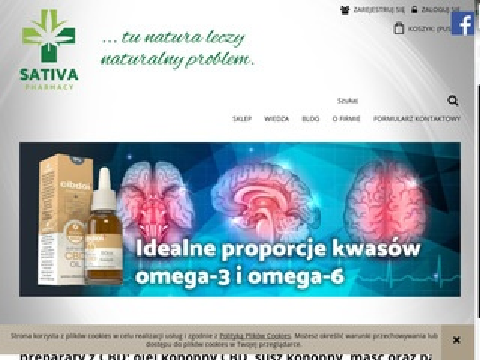 Sativa Pharmacy produkty z konopi