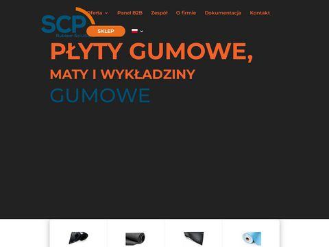 Scp1.pl wykładziny gumowe