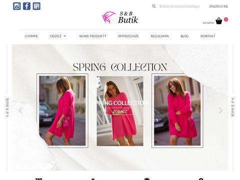 Sbbutik.pl włoskie spodnie damskie