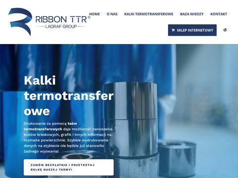 Ribbonttr.com do drukarek termotransferowych