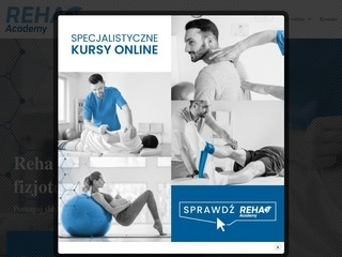 Reha-academy.pl kurs fizjoterapii