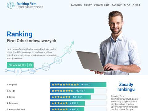 Rankingfirmodszkodwawczych.pl