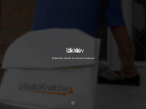 Ulotkikrakow.com dystrybucja