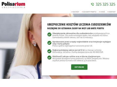 Ubezpieczeniecudzoziemca.pl