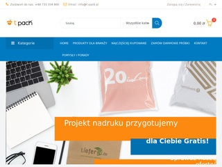 T-pack.pl producent etykiet papierowych
