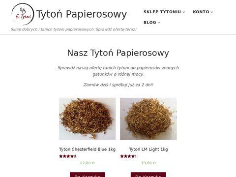 Tytonpapierosowy.pl hurtowy sklep
