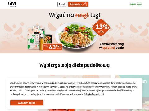 Timcatering.pl dieta pudełkowa
