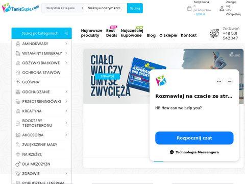 Taniesuple.come sklep dla sportowców