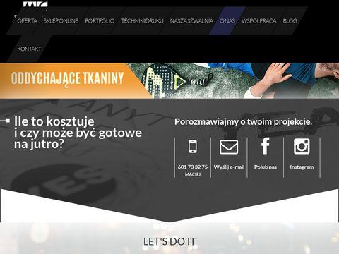 123koszulki.pl do biegania z nadrukiem