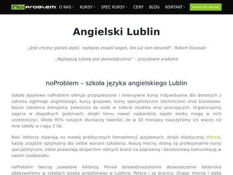 Noproblem.edu.pl nauka angielskiego online