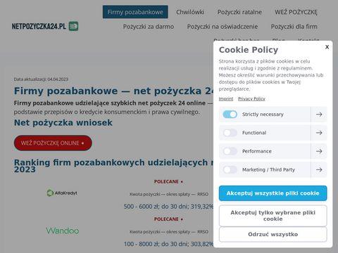 Netpozyczki24.pl online