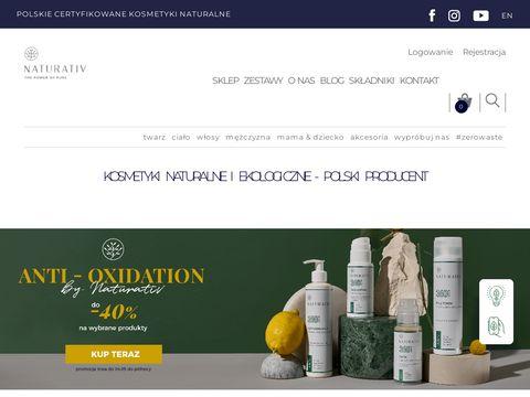 Naturativ.pl sklep kosmetyczny online