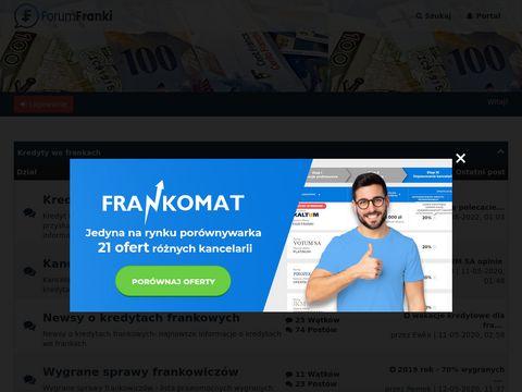 Ondaforum.com kredyty frankowe