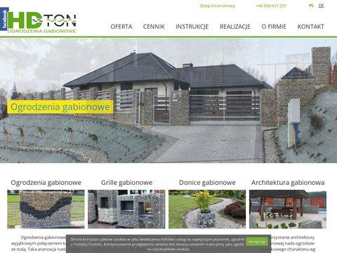 Ogrodzeniagabionowe.com HDTON